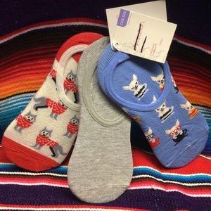 Xhilaration woman' liners socks 3 pack  one size.